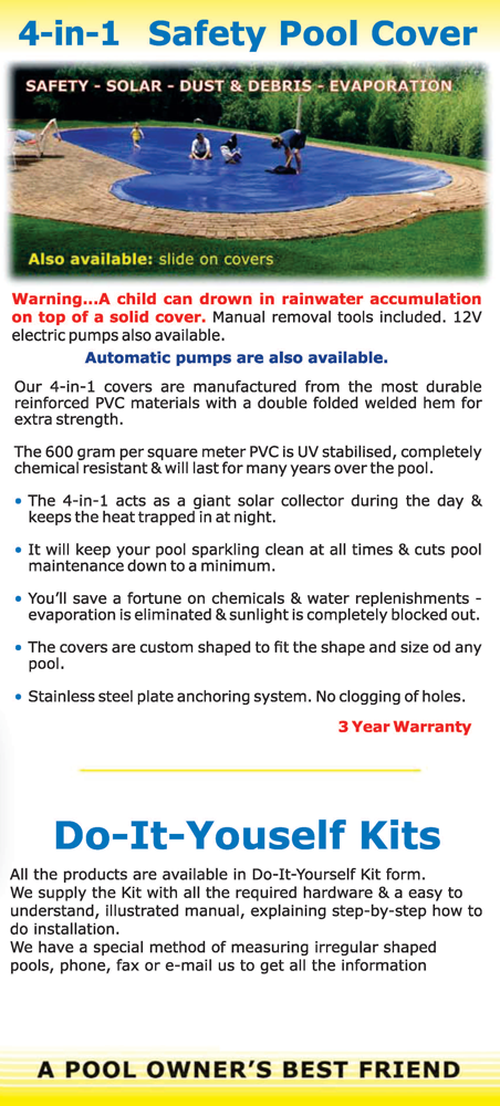 4 in 1 safety pool cover
